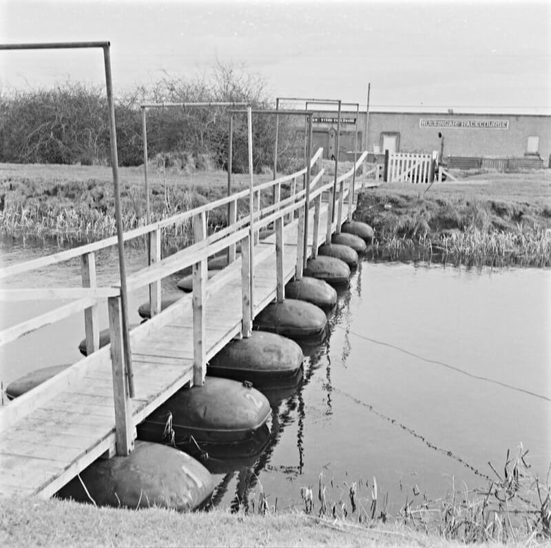 Pontoon Bridge across the Royal Canal in Mullingar